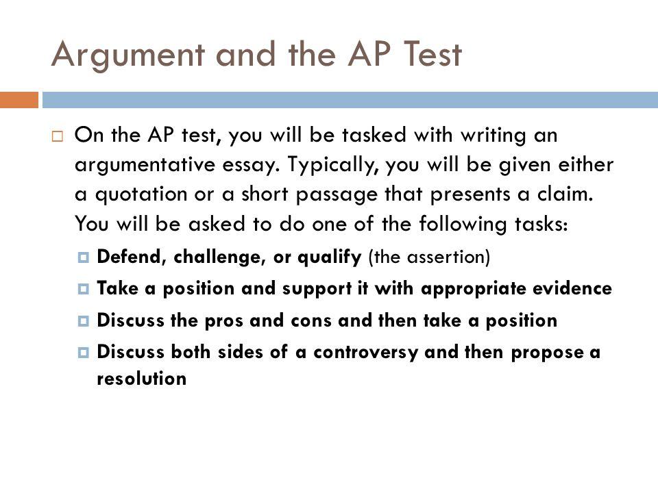 ap argument prompts