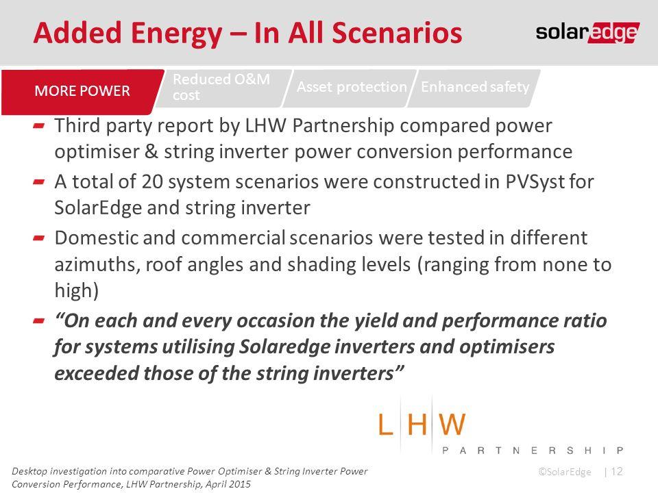 SolarEdge DC Optimised Inverter System - ppt video online
