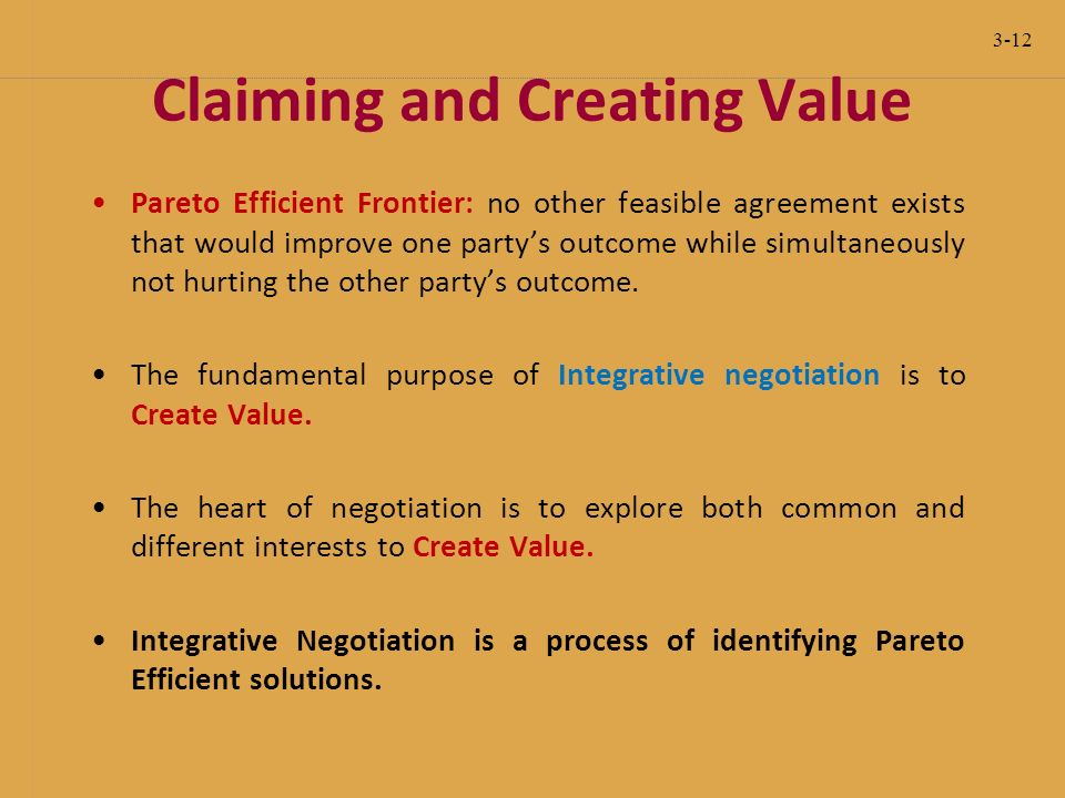 integrative bargaining example in business