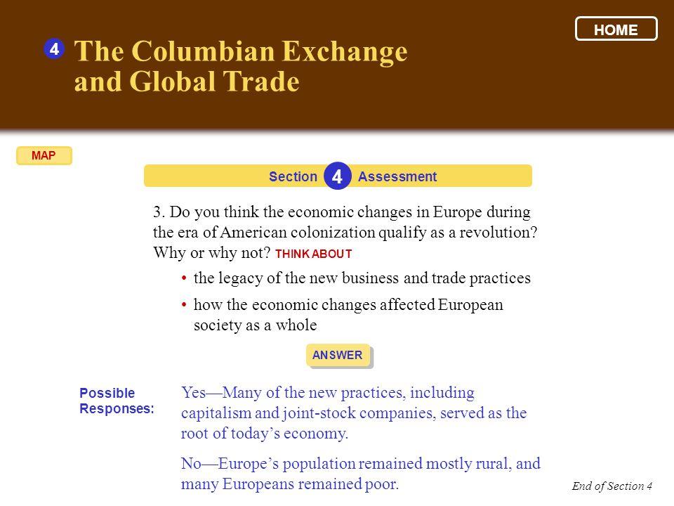 the columbian exchange summary