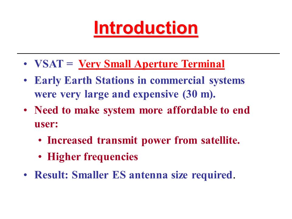 Vsat presentation. Ppt | channel access method | very small.