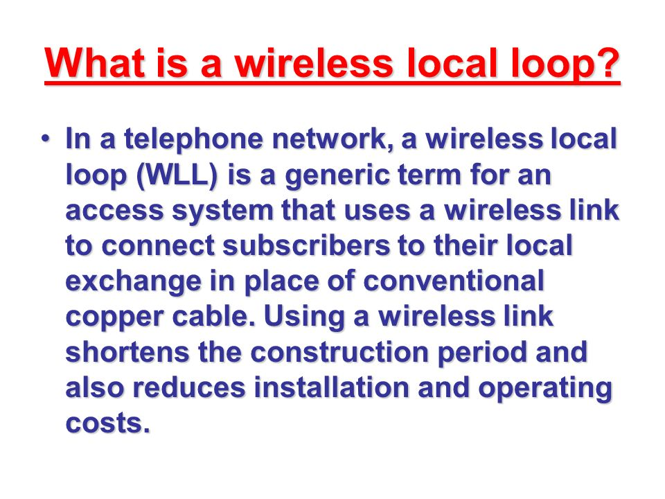 vsat ppt download rh slideplayer com Loop Diagram Cable Local Feeder Router Diagram