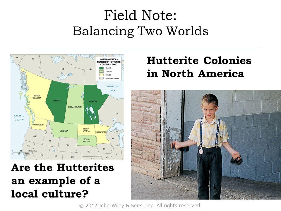 hutterite culture