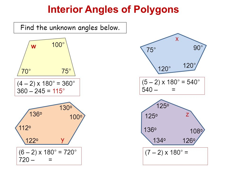 How to find an interior angle of a polygon awesome home for How do you find the exterior angles of a polygon