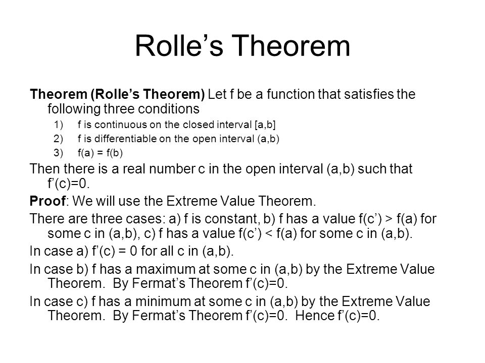 42 The Mean Value Theorem Ppt Video Online Download. Worksheet. Worksheet On Mean Value Theorem At Mspartners.co
