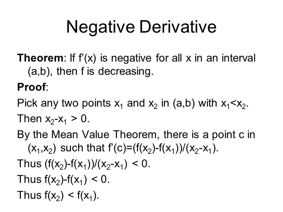 42 The Mean Value Theorem Ppt Video Online Download. 7 Negative Derivative Theorem. Worksheet. Worksheet On Mean Value Theorem At Clickcart.co