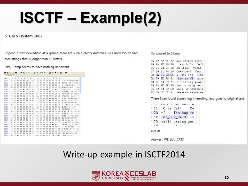 ISCTF 2015 Capture The Flag Competition - ppt video online