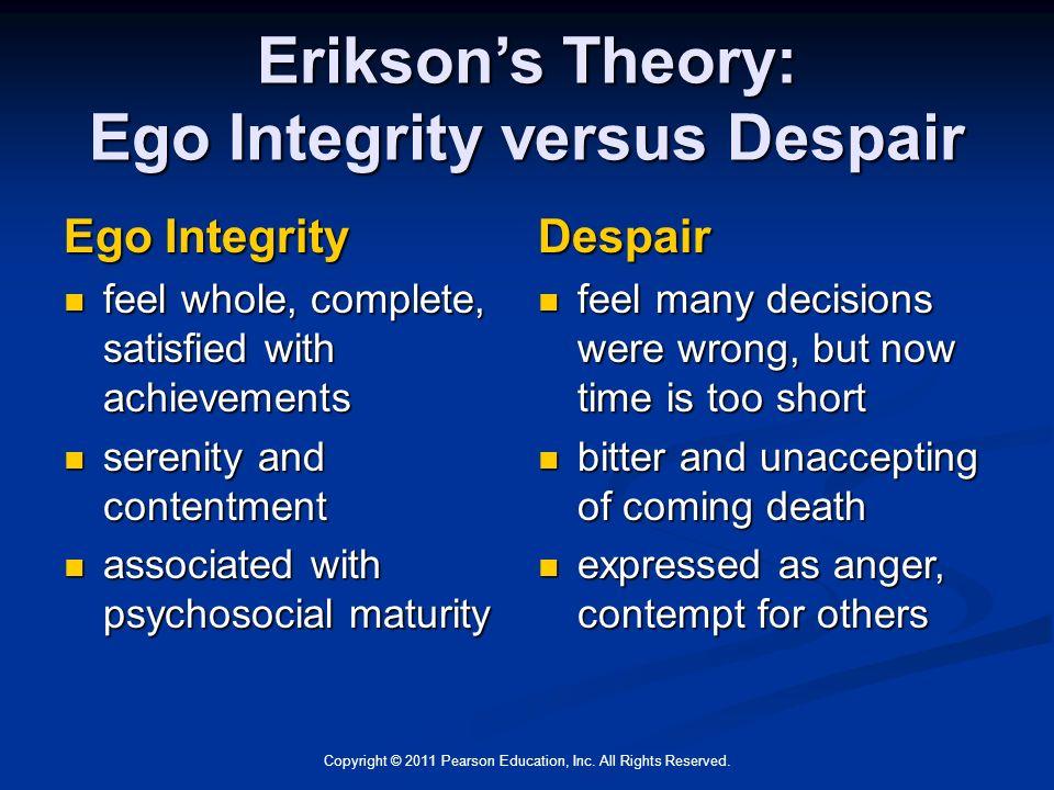 erikson integrity vs despair