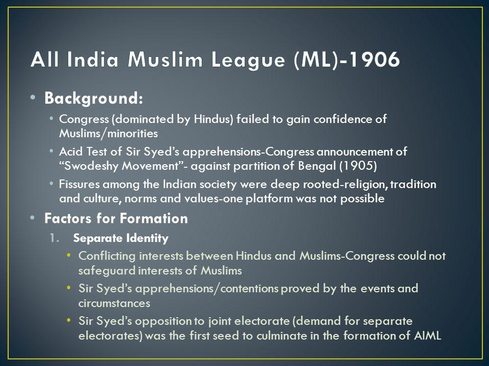 all india muslim league 1906
