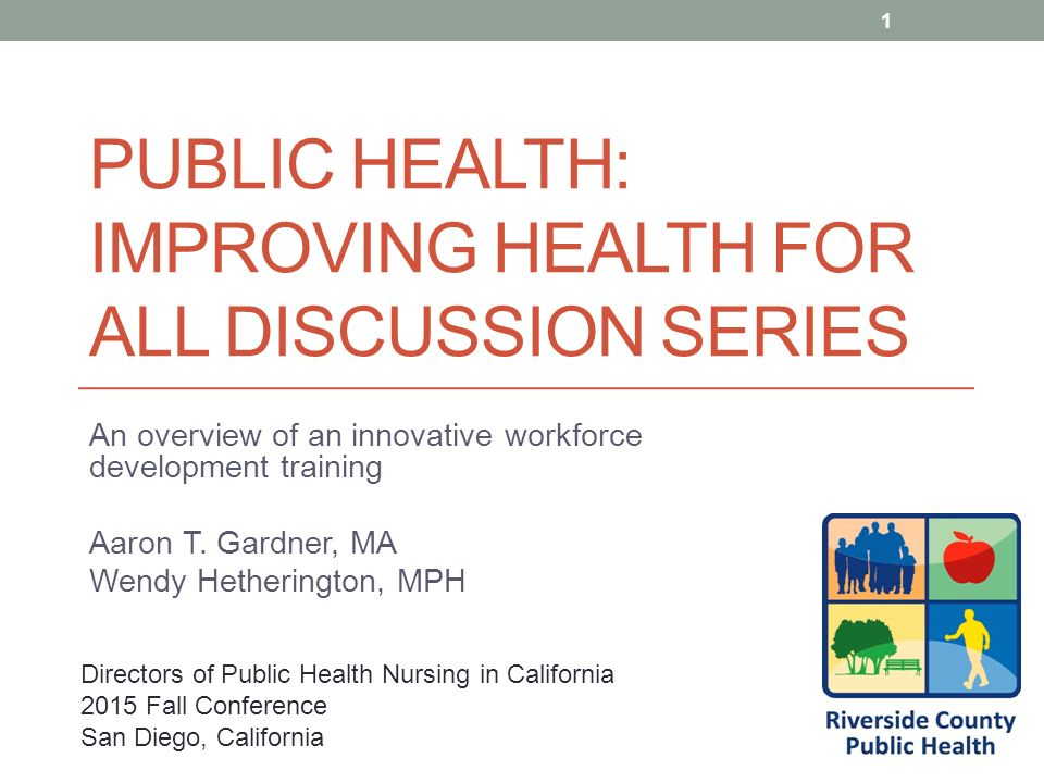 public health: improving health for all discussion series - ppt download