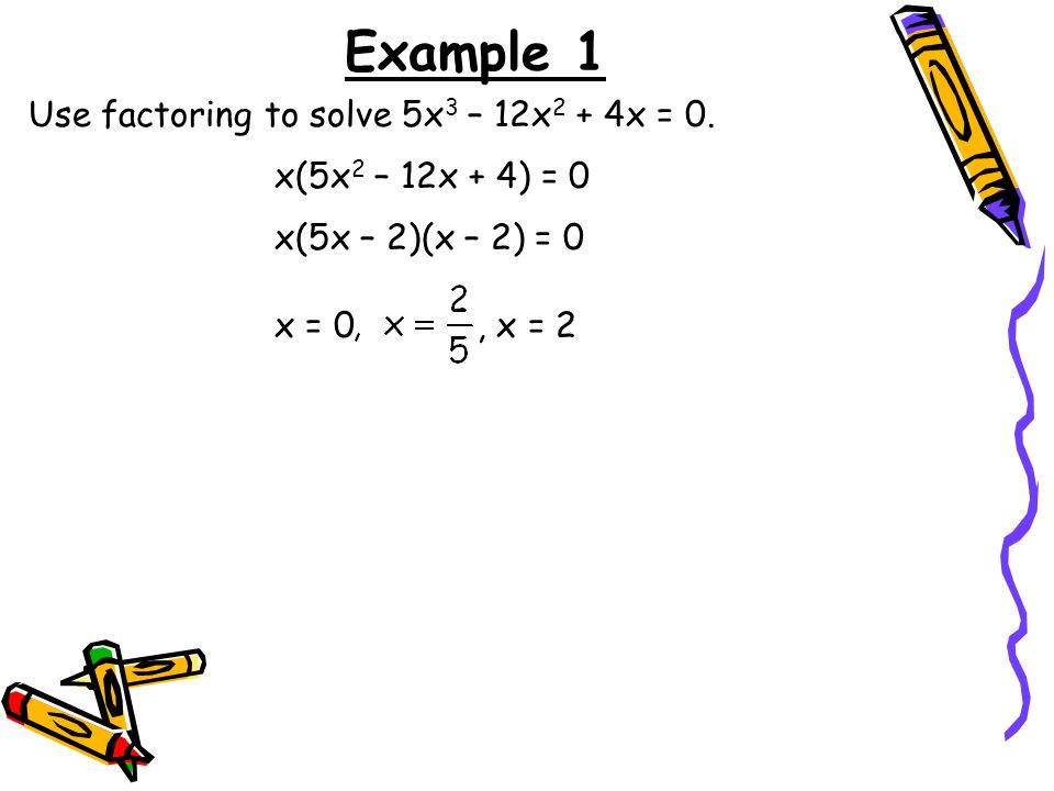 7 4 Solving Polynomial Equations Ppt Download