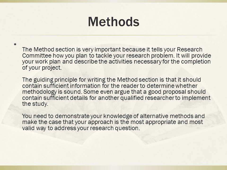 How to Write a Research Proposal - ppt video online download