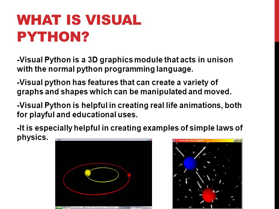 Creating visual interfaces in python - ppt video online download