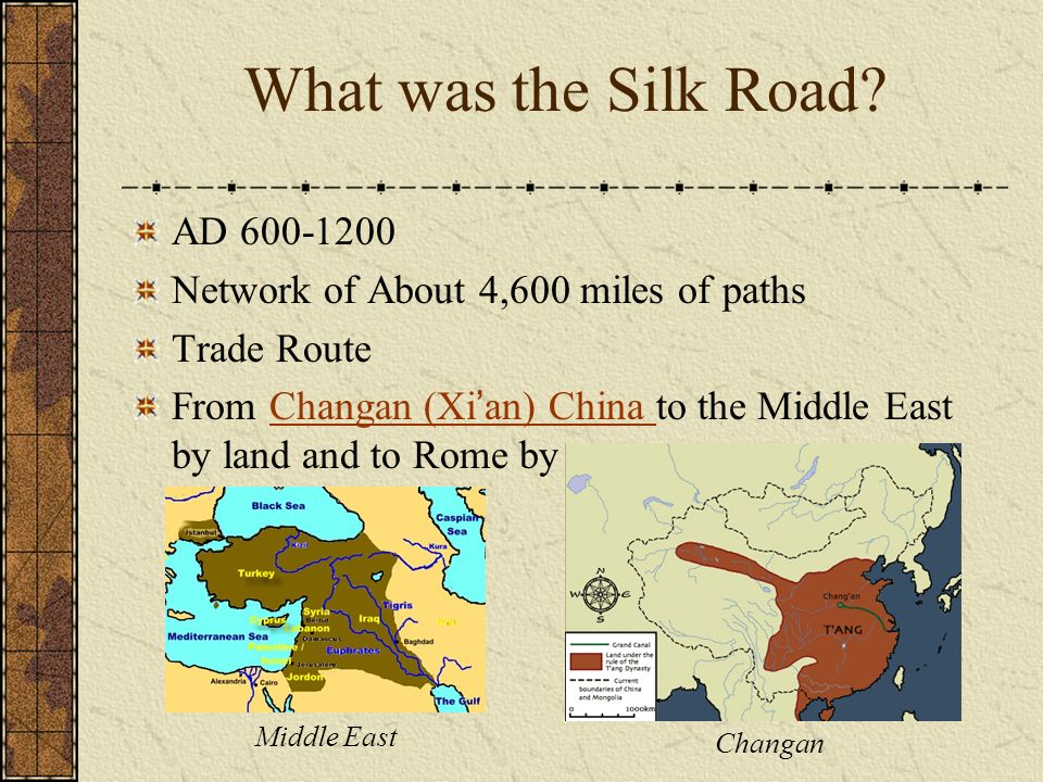 The Silk Road:  - ppt video online download