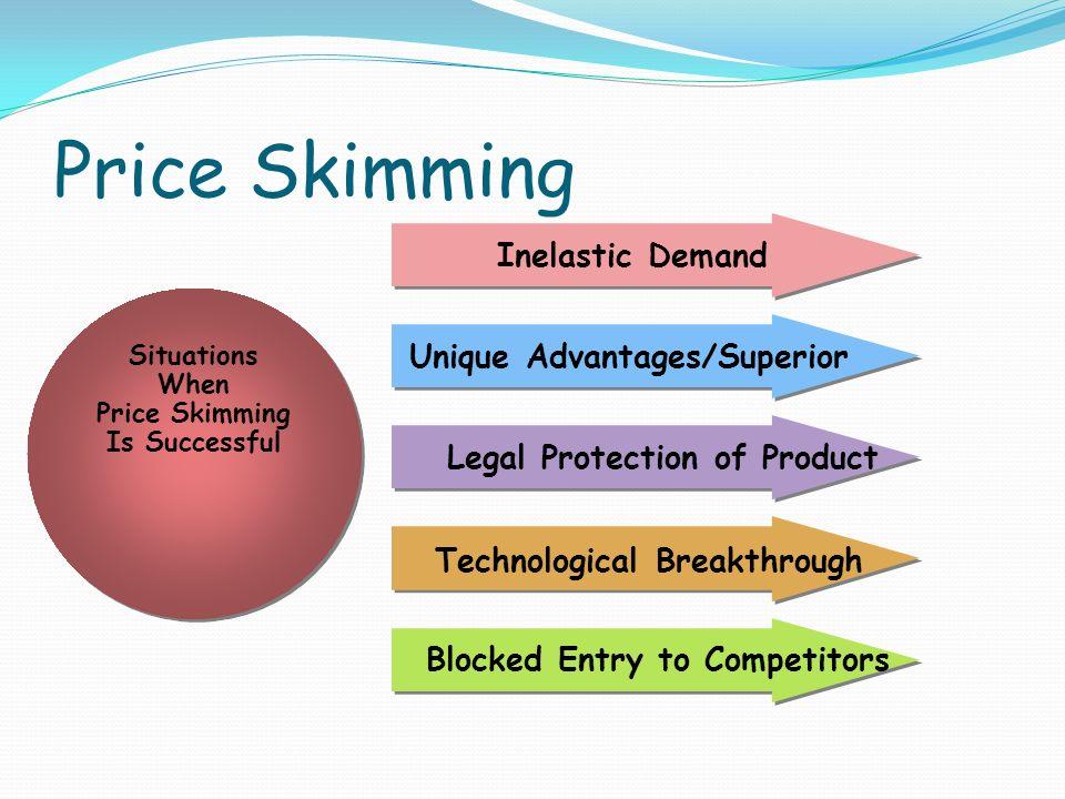 benefits of price skimming