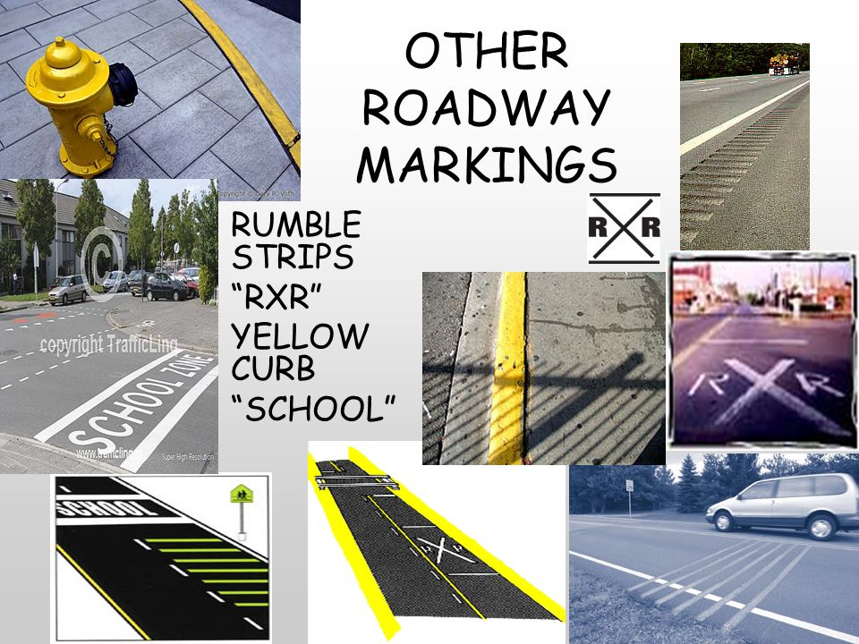 SIGNS, SIGNALS, AND ROADWAY MARKINGS - ppt download
