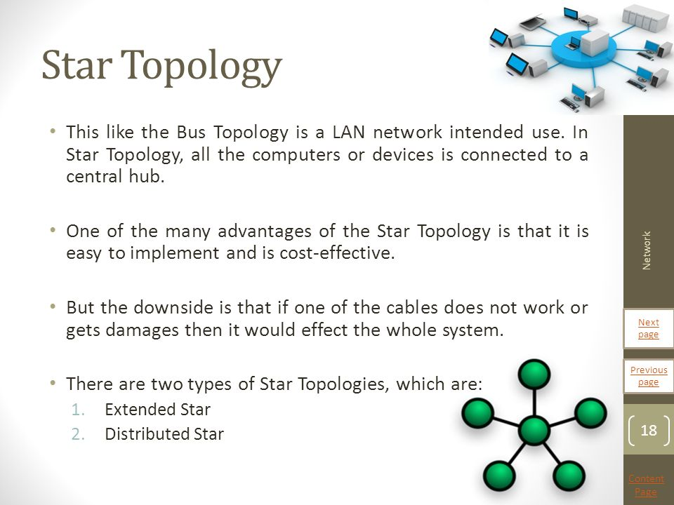advantages of star topology over bus topology