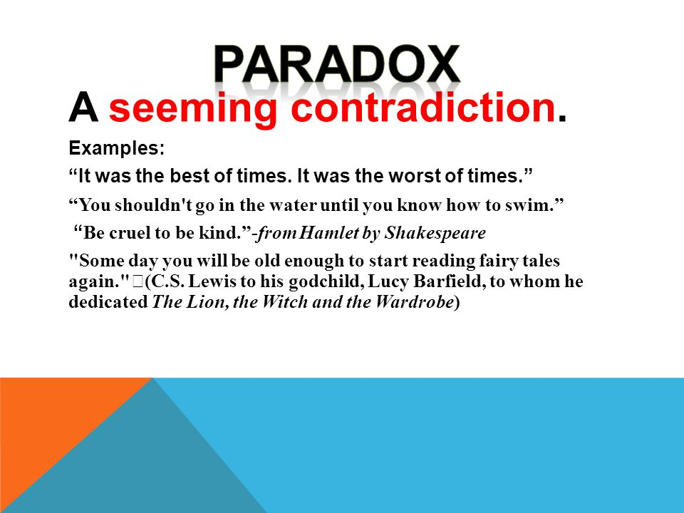 Examples Of Paradox In Hamlet Image Collections Example Cover