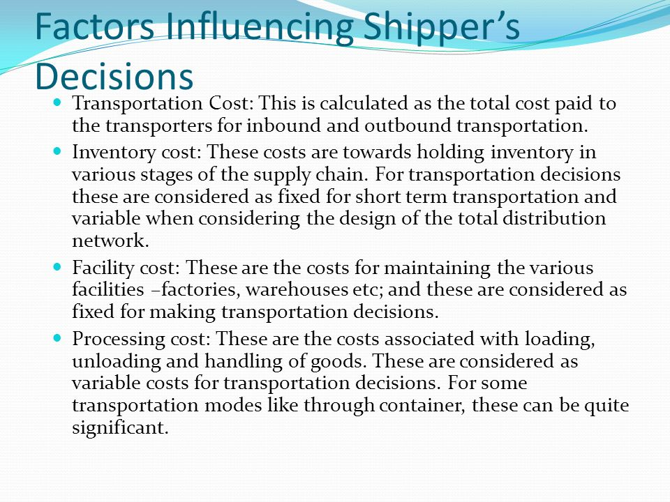 Introduction Transportation is necessary to: - ppt video