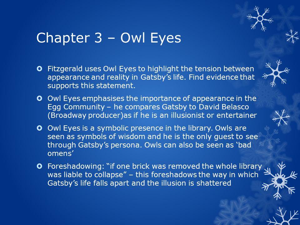 owl eyes great gatsby