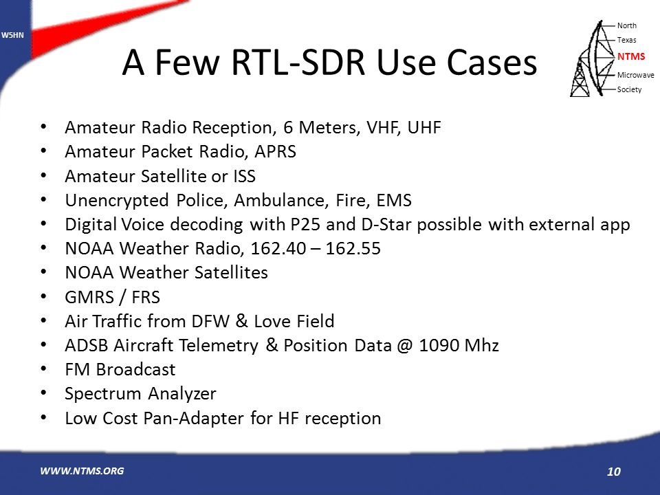 RTL-SDR An Inexpensive and Portable SDR using a USB Sized