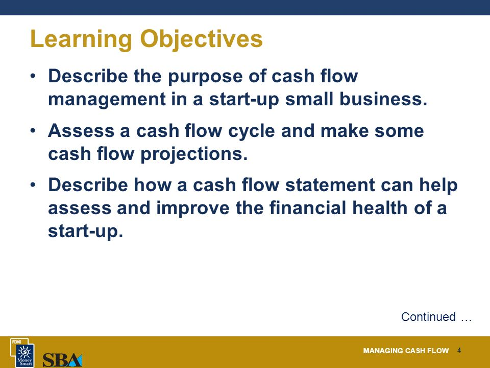 managing cash flow ppt download