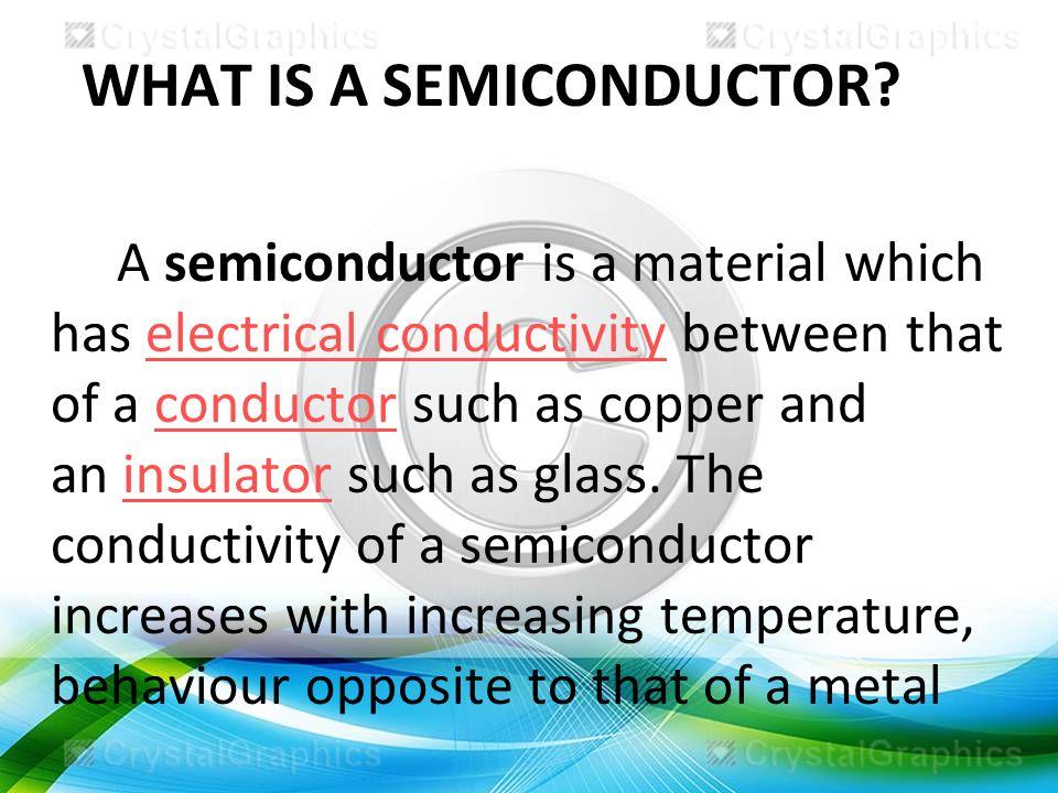 Semiconductors |authorstream.