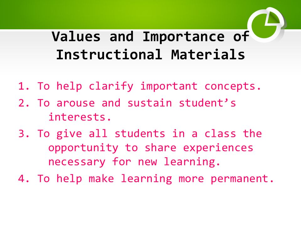 7 producing relevant instructional materials | international.