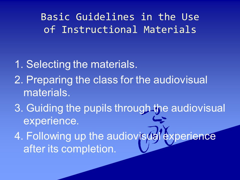 Selection And Preparation Of Instructional Materials Ppt Video