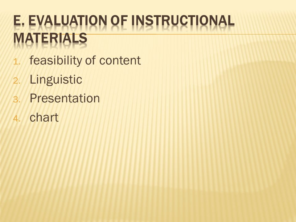 Chapter I Instructional Materials Ppt Video Online Download