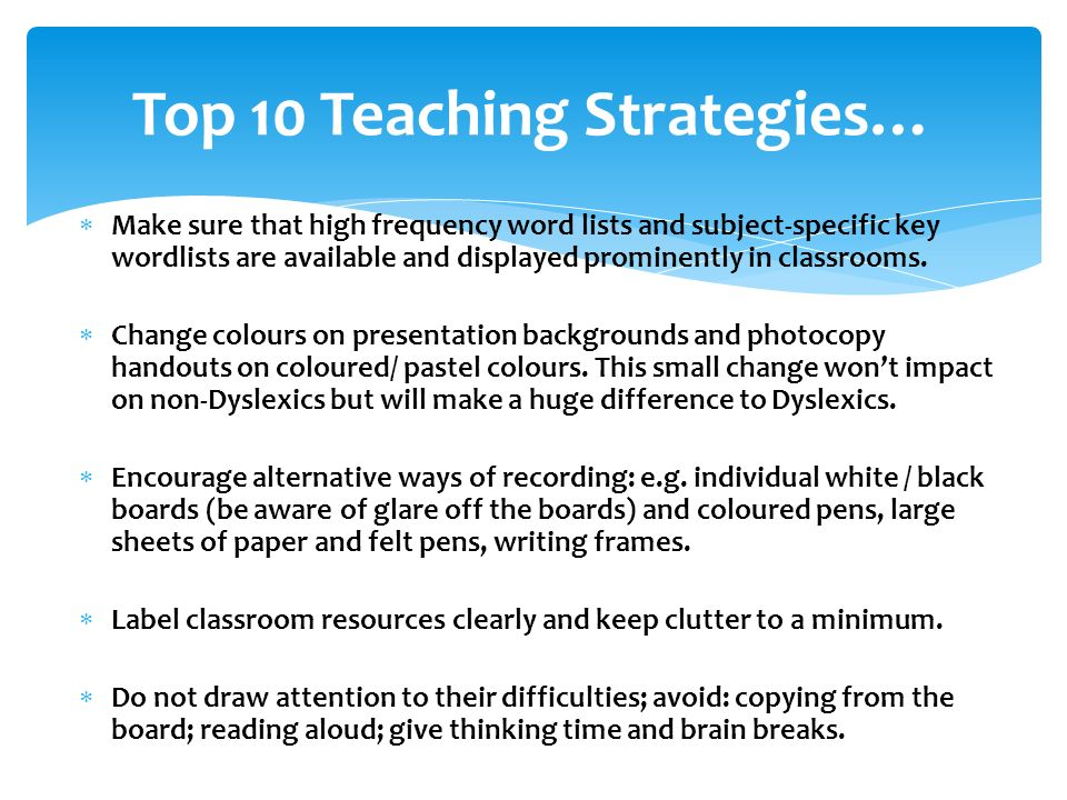 Reasonable Adjustments In The Classroom Tips For Teaching Learners