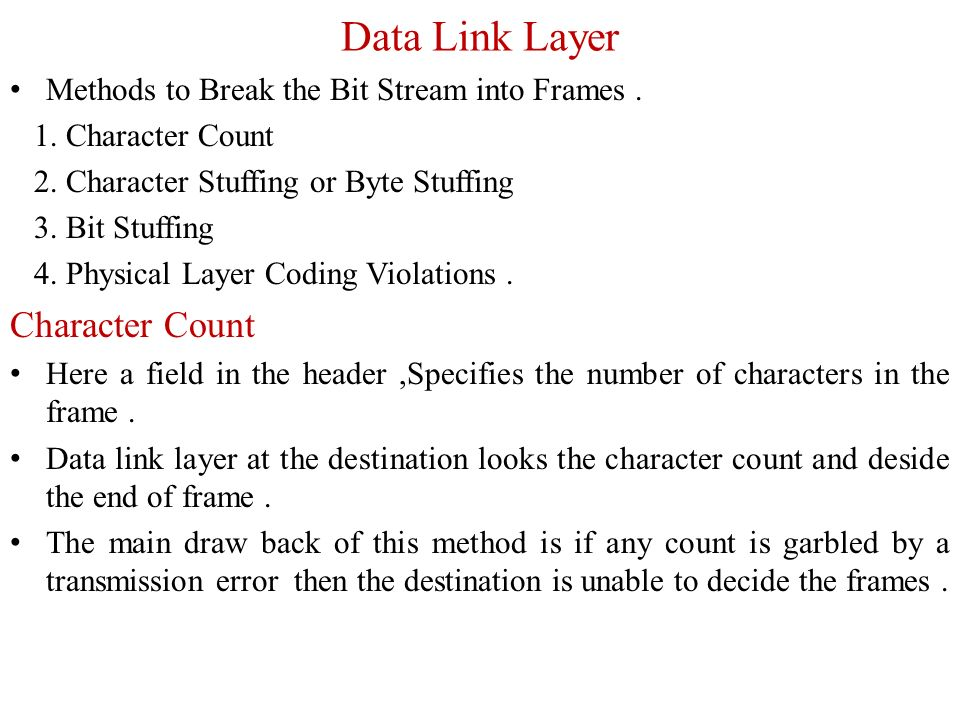 physical layer and data link layer pdf