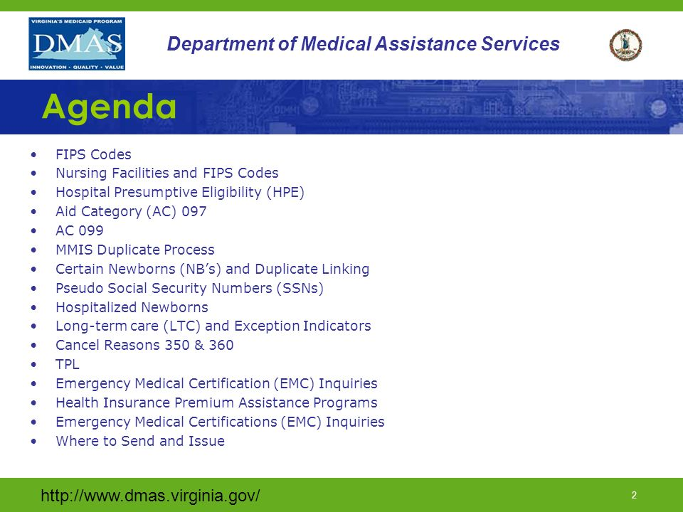 Department Of Medical Assistance Services Ppt Download