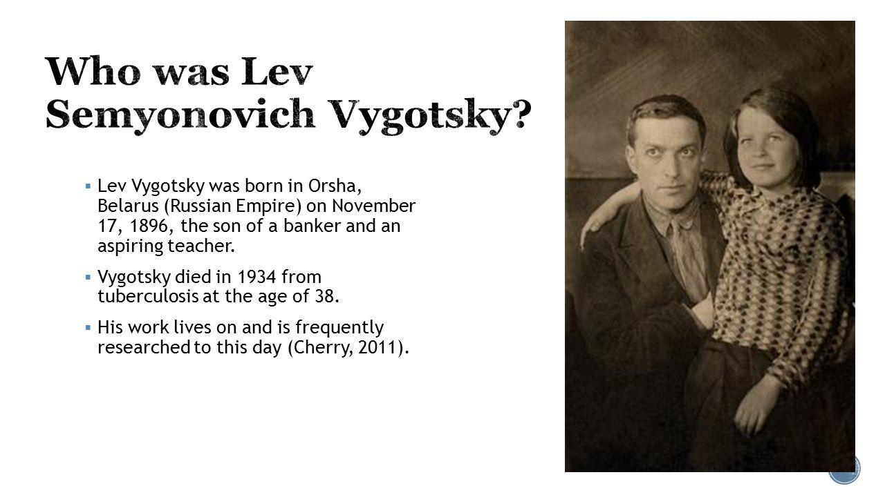 lev semyonovich vygotsky