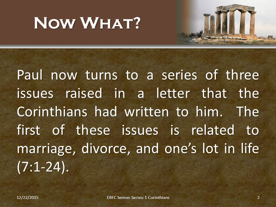 paul s first letter to the corinthians church purity in a polluted culture marriage celibacy 23914