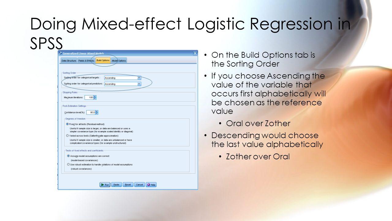 Logistic Regression Correlation, ANOVA, t-test, chi-square have