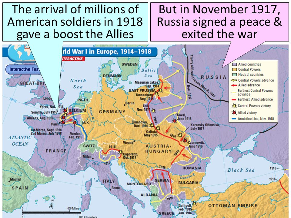 Text From 1914 to 1919, World War I erupted in Europe - ppt video ...