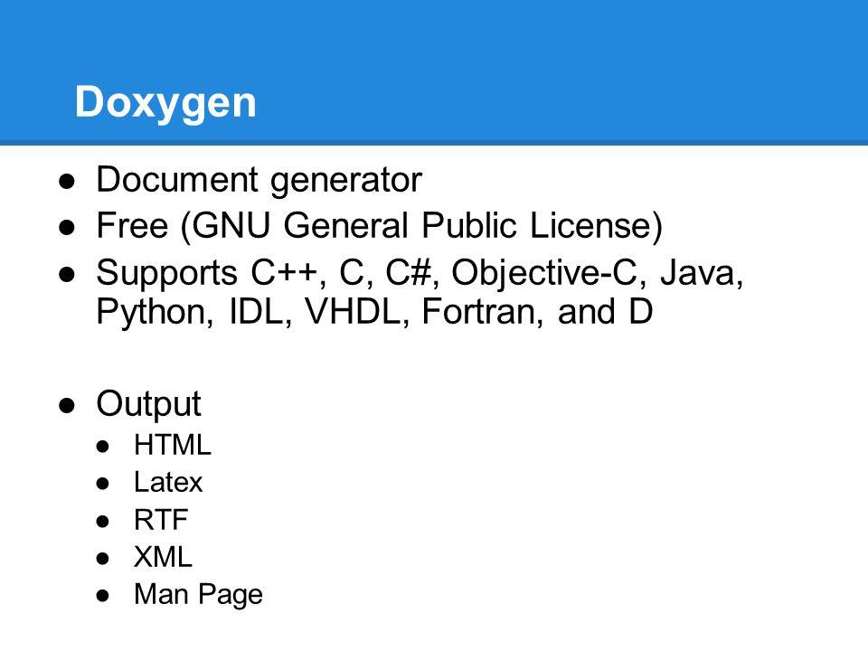 Doxygen Documentation - ppt video online download