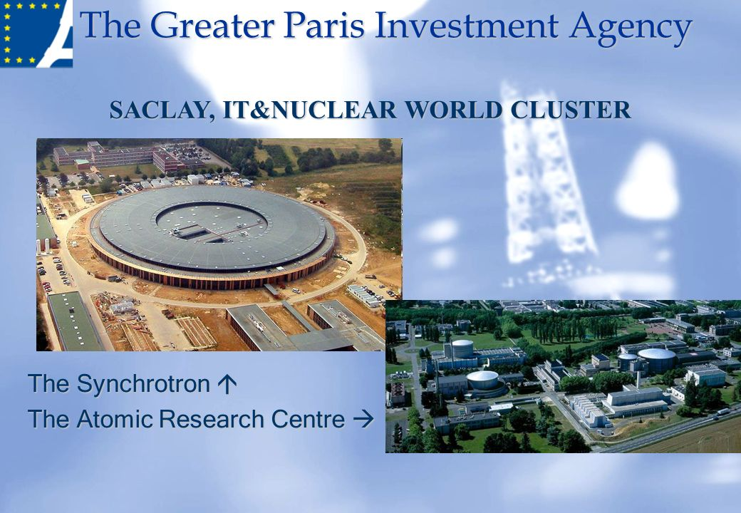 SACLAY, IT&NUCLEAR WORLD CLUSTER