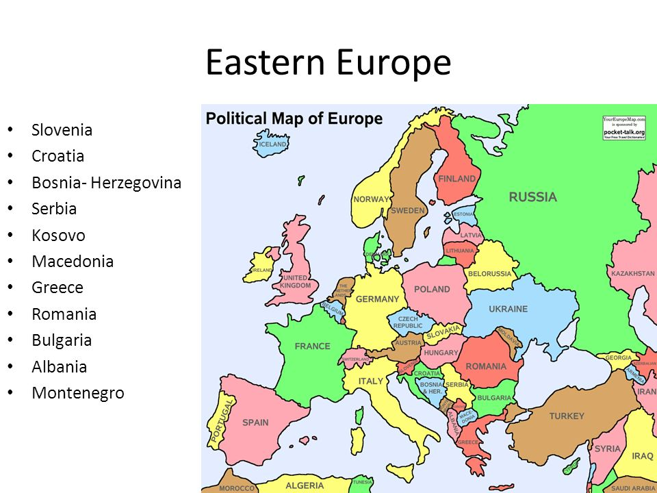 Map region 3 europe ppt download 6 eastern publicscrutiny Choice Image
