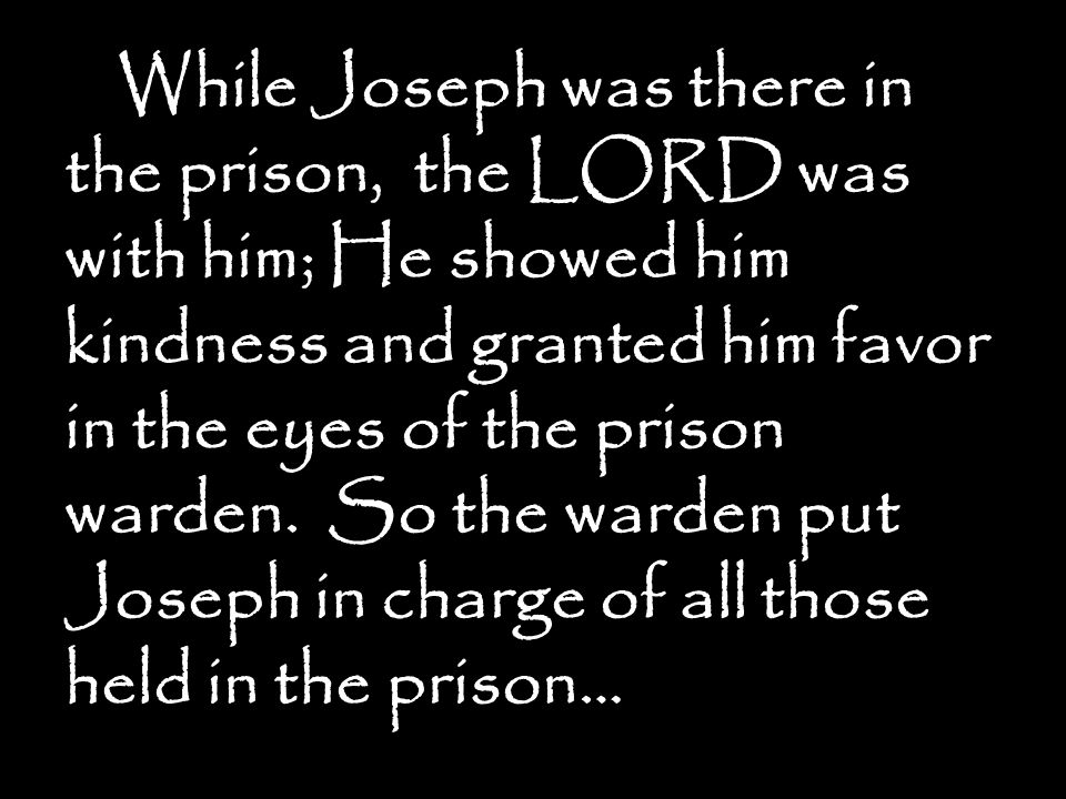 Molded For Greatness The Story Of Joseph Part 7 Faithful Slave