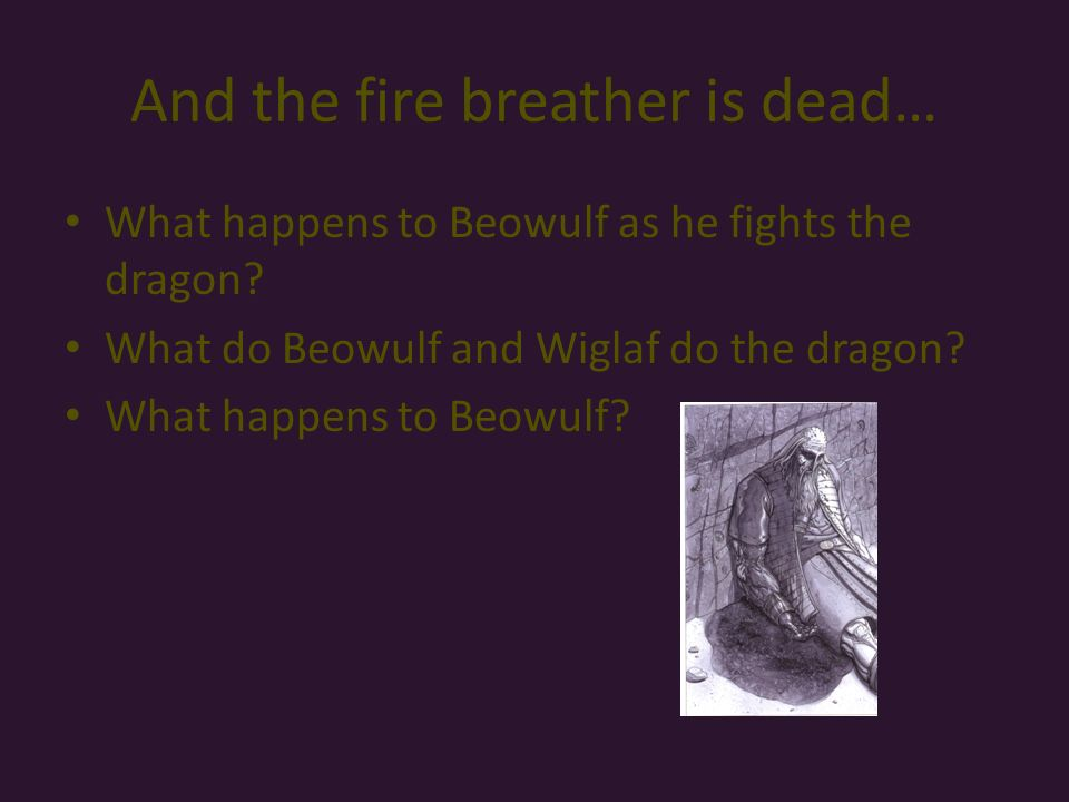 a character analysis of the epic poem beowulf Beowulf is an epic poem featuring the main character, beowulf, as an incredible hero who can defeat anyone to keep his people safe  this shows beowulf's unwavering bravery and strength  beowulf had more of an influence with supernatural powers, because both of the main characters possessed them.