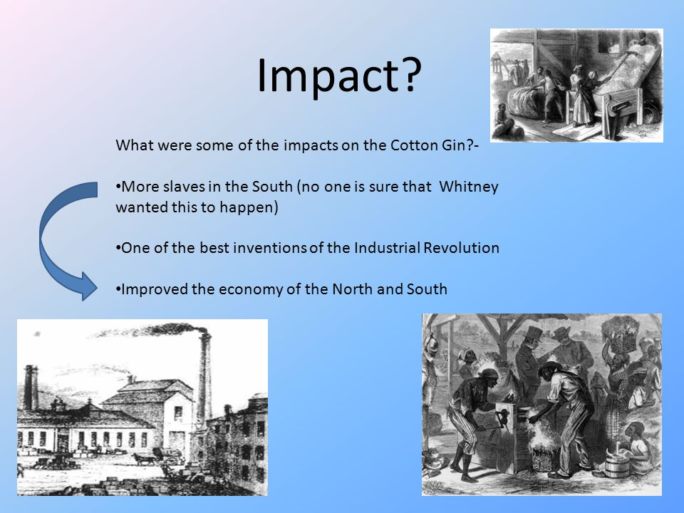 Eli Whitney And The Cotton Gin Ppt Video Online Download