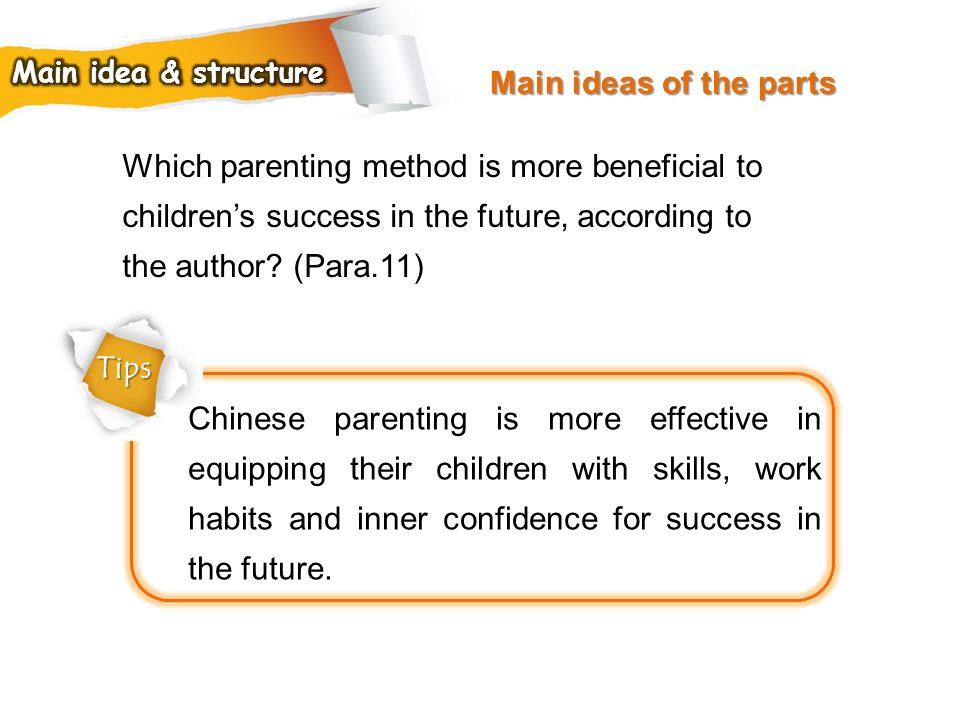 Which parenting method is more beneficial to