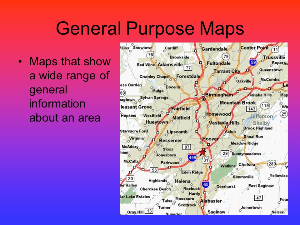What Is The Purpose Of A Map Types of Maps.   ppt download What Is The Purpose Of A Map