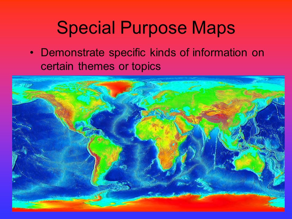 Types of Maps. - ppt download