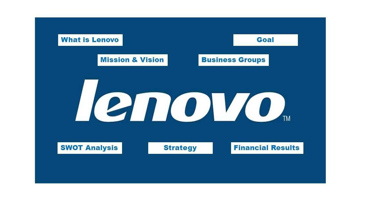 lenovo group limited swot analysis Lenovo group limited - swot analysis company profile is the essential source for top-level company data and information lenovo group limited - swot analysis examines the company's key.