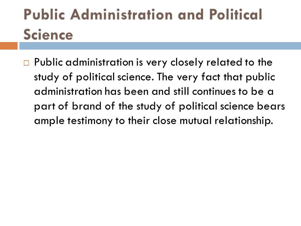 public administration as an art and as a science Is public administration a science or an art the answer to this  if public  administration—the organization and management of individual public agencies —is a.