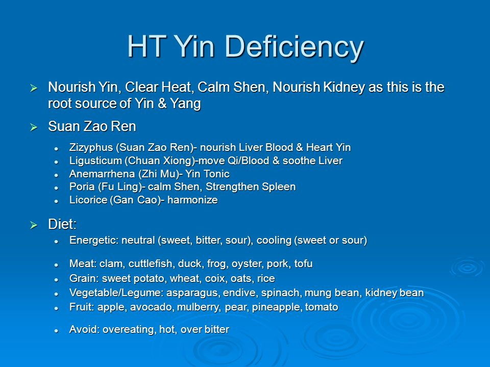 TCVM Heart Food Therapy - ppt download