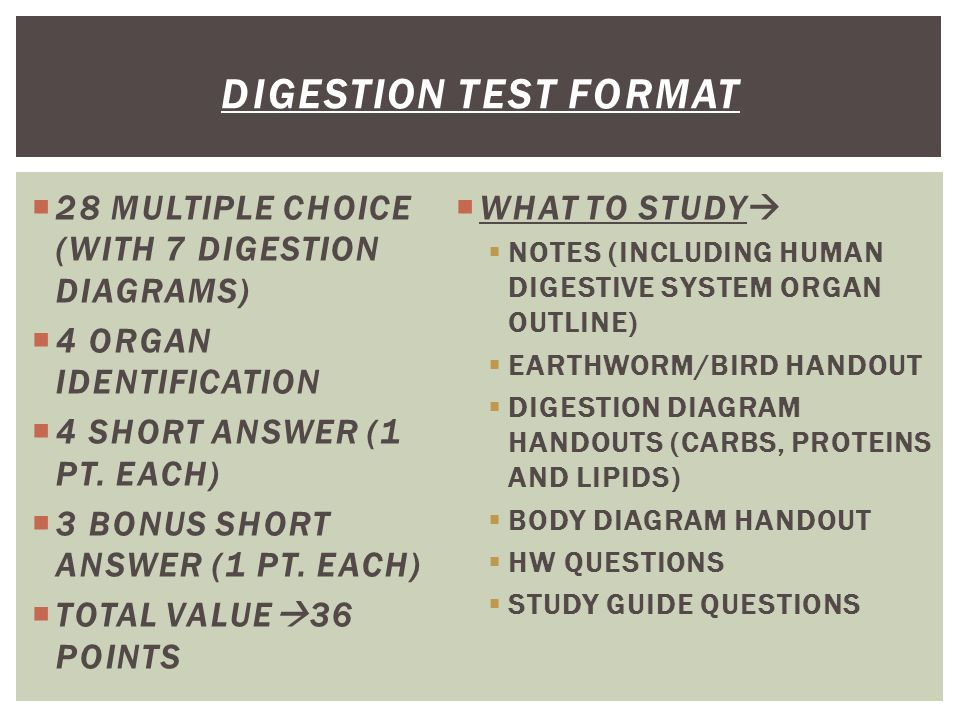 DIGESTION SECT 2 9 P Ppt Download